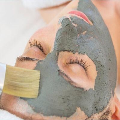 maschera all'alga Spirulina